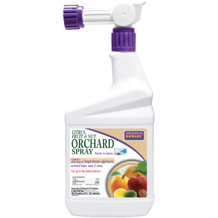 1Qt Citrus Fruit & Nut Orchard Spray RTS Insect-Fungicide Bonide