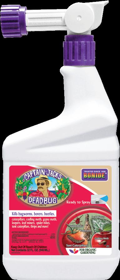 1Qt Captain Jack's Dead Bug Brew RTS Insecticide Bonide