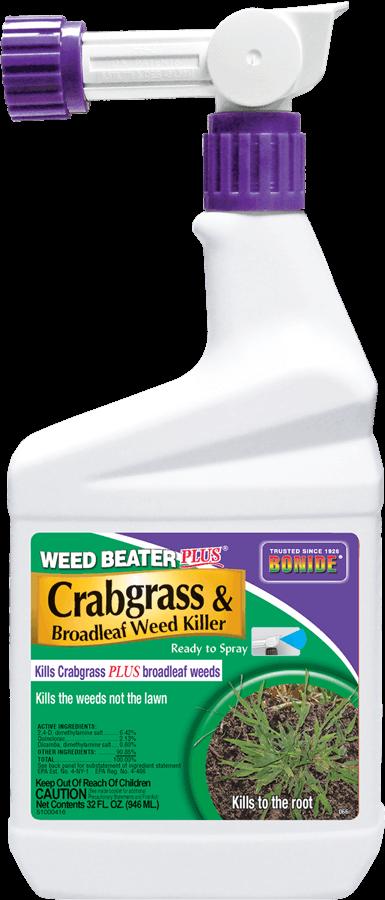 1Qt Weed Beater + Crabgrass Weed Killer RTS Herbicide Bonide