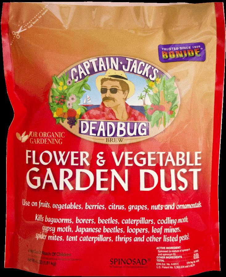 4Lb Captain Jack's Dead Bug Brew Dust Insecticide Bonide