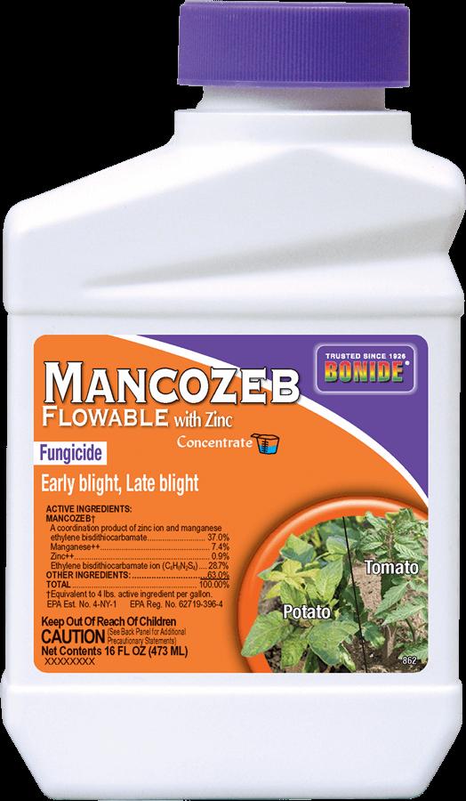 1Pt Mancozeb Flowable w/Zinc Fungicide Concentrate Bonide