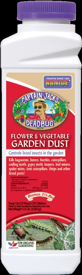 1.5Lb Captain Jack's Dead Bug Brew Dust Insecticide Bonide