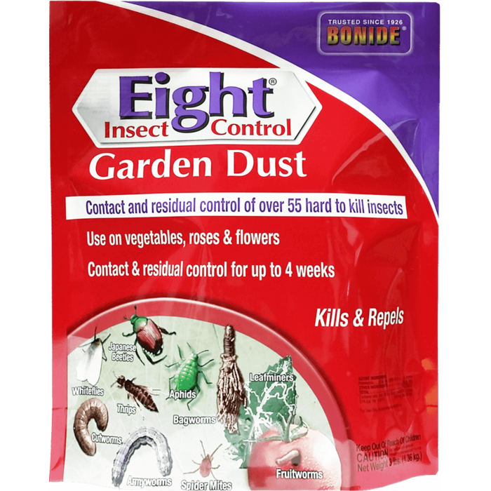 3Lb Eight Garden Dust Insecticide Bonide
