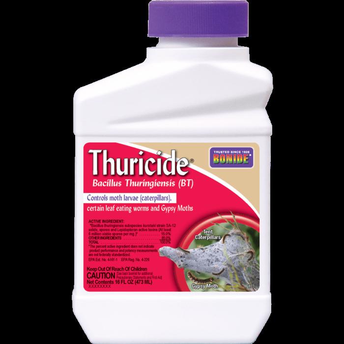 1Pt BT Thuricide Concentrate Insecticide Bonide
