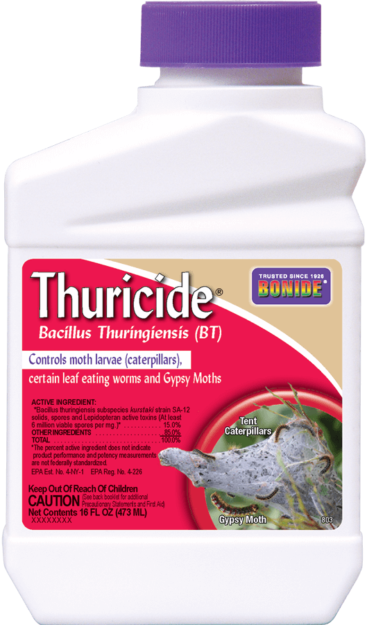1Pt BT Thuricide Concentrate Insecticide Bonide