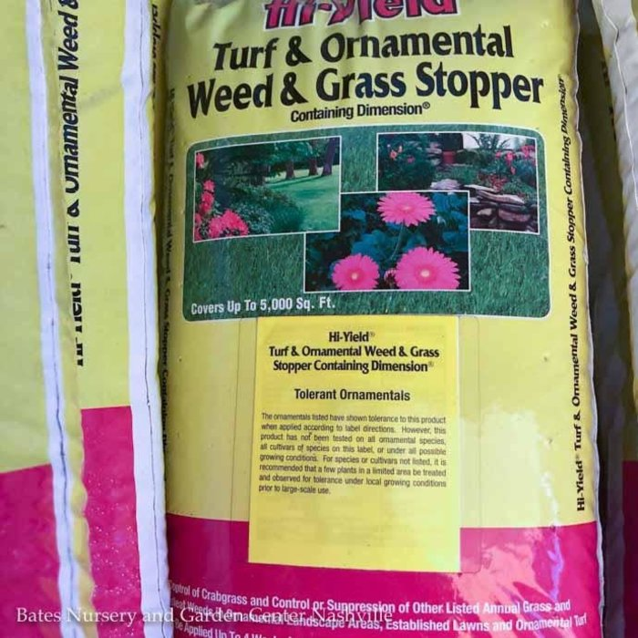35Lb Turf & Ornamental Weed & Grass Stop w/Dimension Hi-Yield