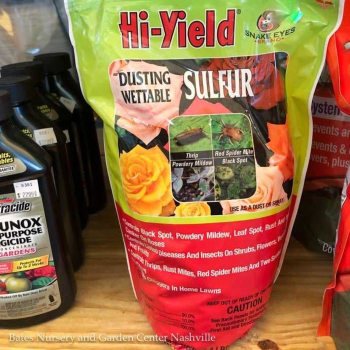 4 Lb Sulfur Dusting or Wettable Hi-Yield