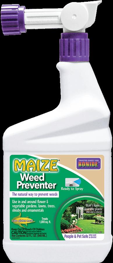 1Qt Maize Organic Weed Preventer - Corn Gluten RTS Bonide