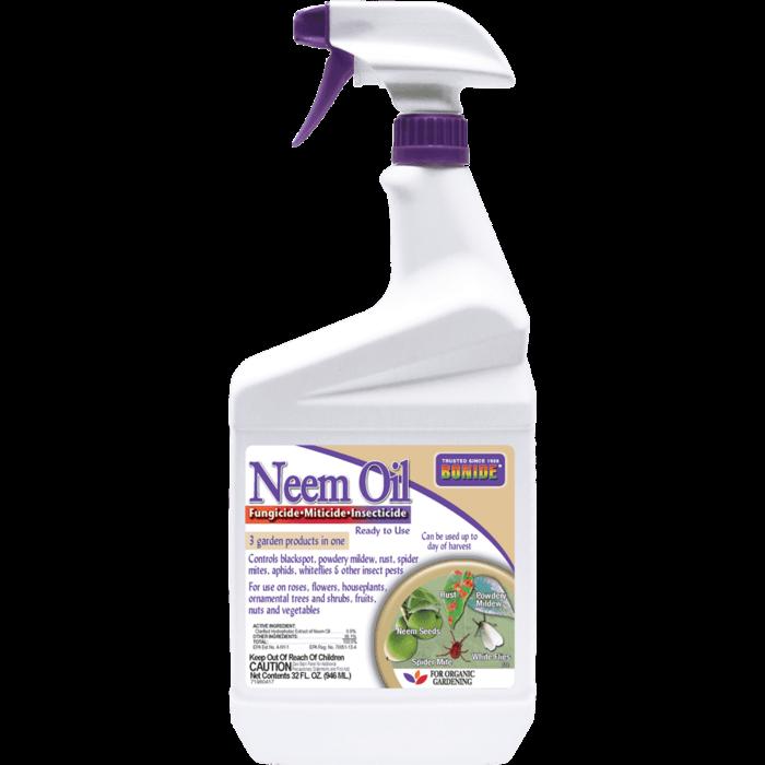 1Qt Neem Oil RTU Insect-Mite-Fungicide Bonide