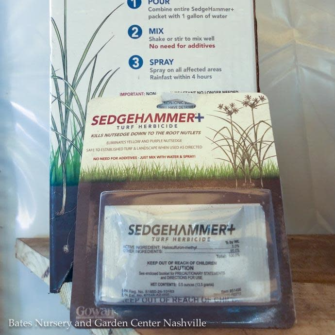 .5oz SedgeHammer Plus / Nutsedge Herbicide