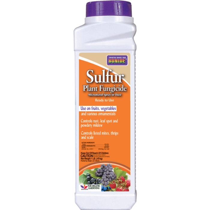 1Lb Sulfur Dust Insect-Fungicide Bonide