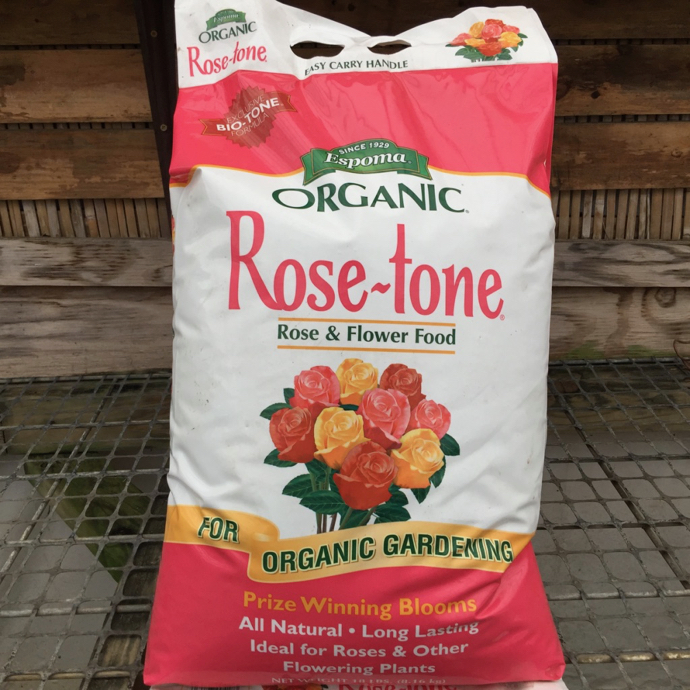 18Lb Rosetone 4-3-2 Fertilizer Espoma