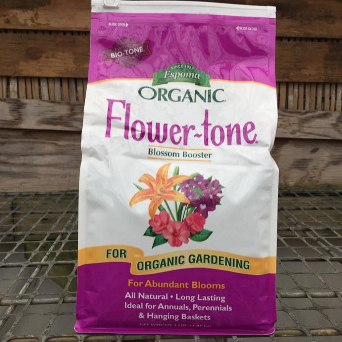 4 Lb Flowertone 3-4-5 Fertilizer Espoma