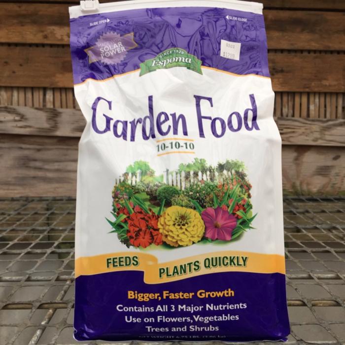 6.75Lb Garden Food / Fertilizer 10-10-10 Espoma