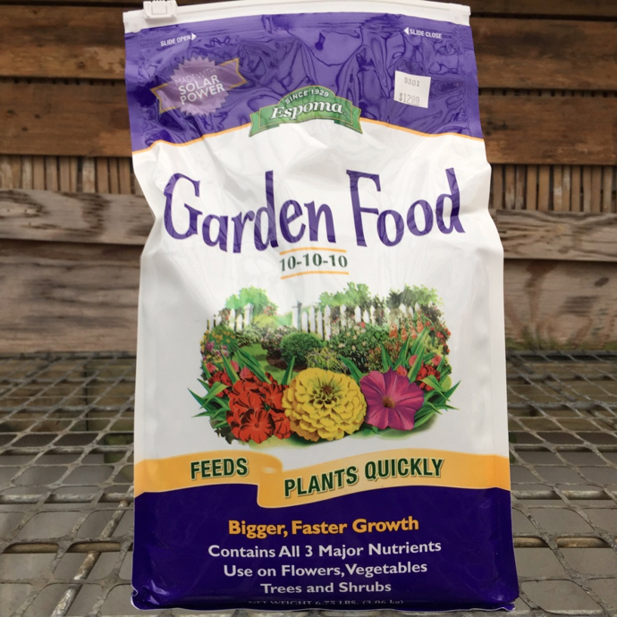 6.75Lb Garden Food / Fertilizer 10-10-10 Espoma