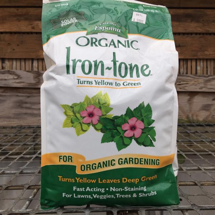 5 Lb Irontone 2-1-3 Fertilizer Espoma
