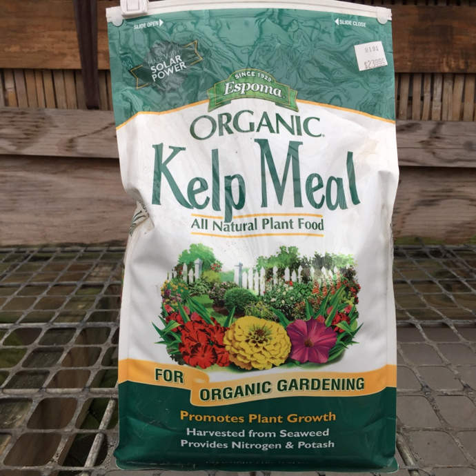 4 Lb Kelp Meal Fertilizer Espoma