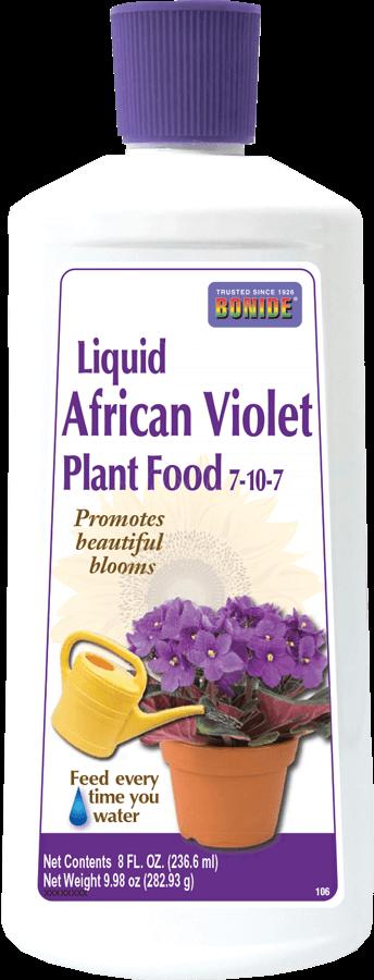8oz Liquid African Violet Food 7-10-7 Bonide