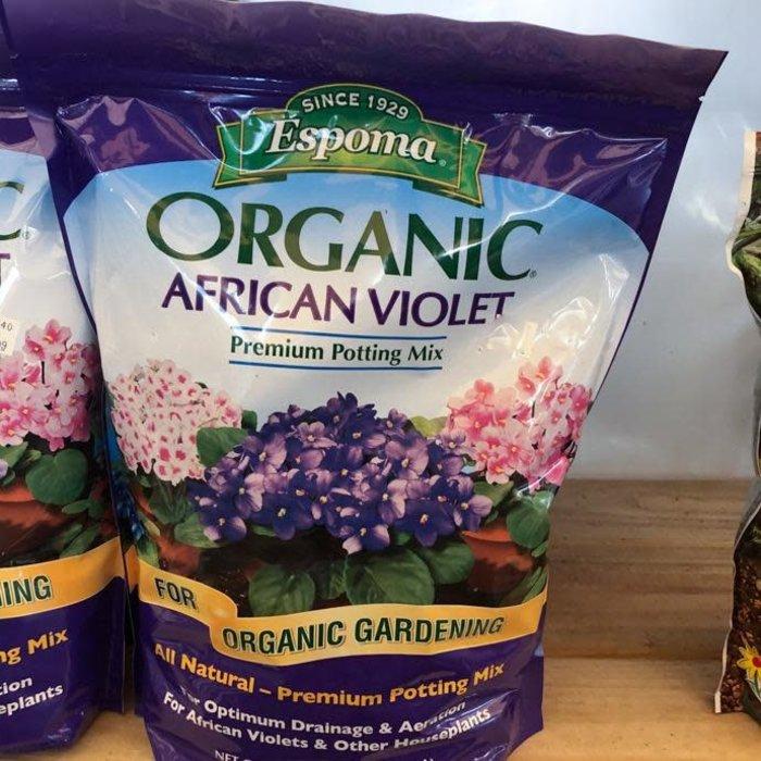 4Qt Organic African Violet Potting Mix/Soil Espoma
