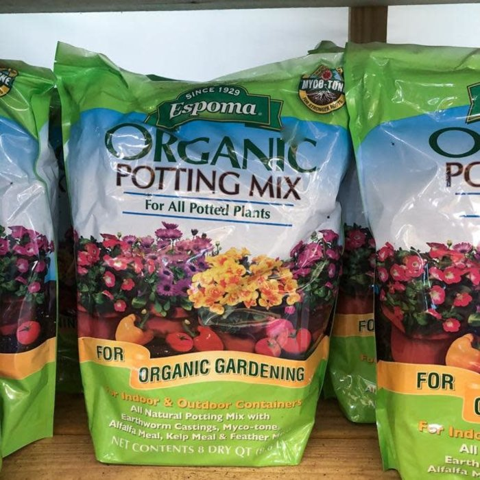 8Qt Organic Potting Mix/ Soil  Espoma