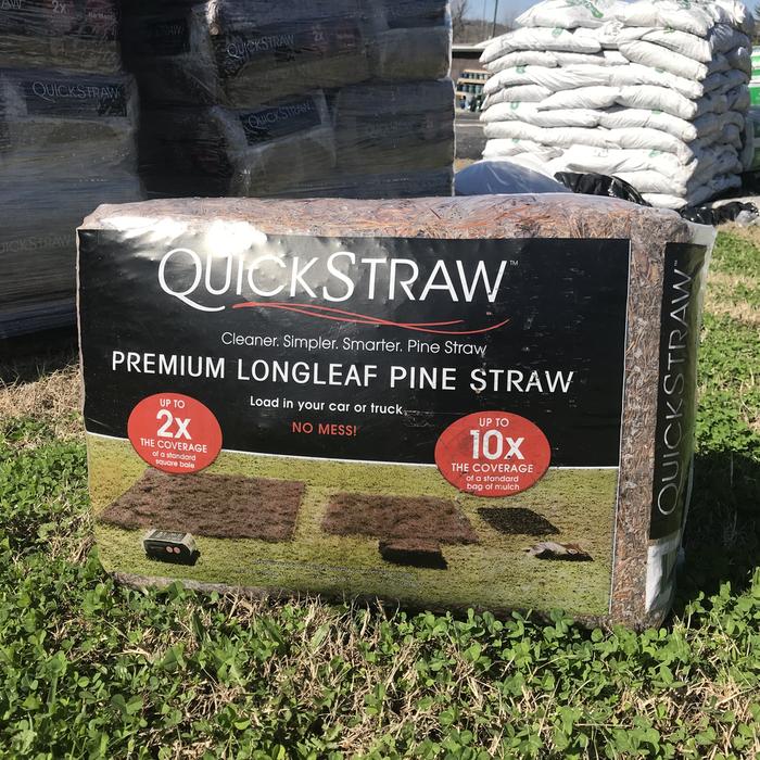 Pine Straw Packaged Bale/Mulch Quickstraw Longleaf