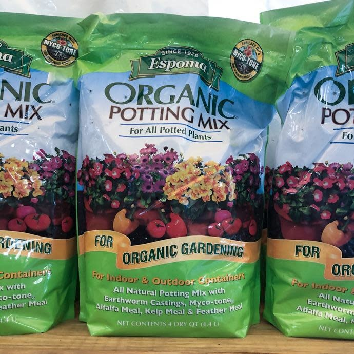 4Qt Organic Potting Mix/Soil Espoma