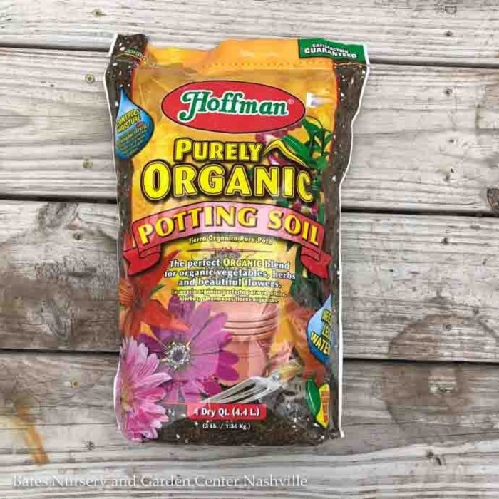 4Qt Organic Potting Mix/Soil All Purpose Purely Organic Hoffman