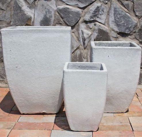 Pot Orlinda Square Lrg 18x23 Asst