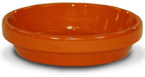 """Saucer 4"""" Glazed Orange"""