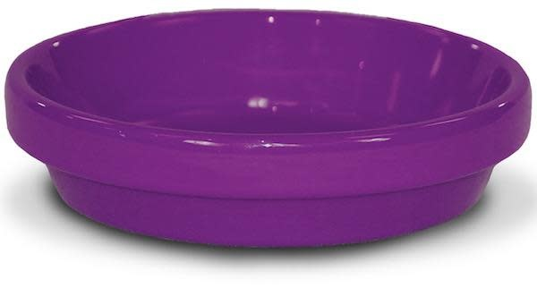 """Saucer 4"""" Glazed Violet"""