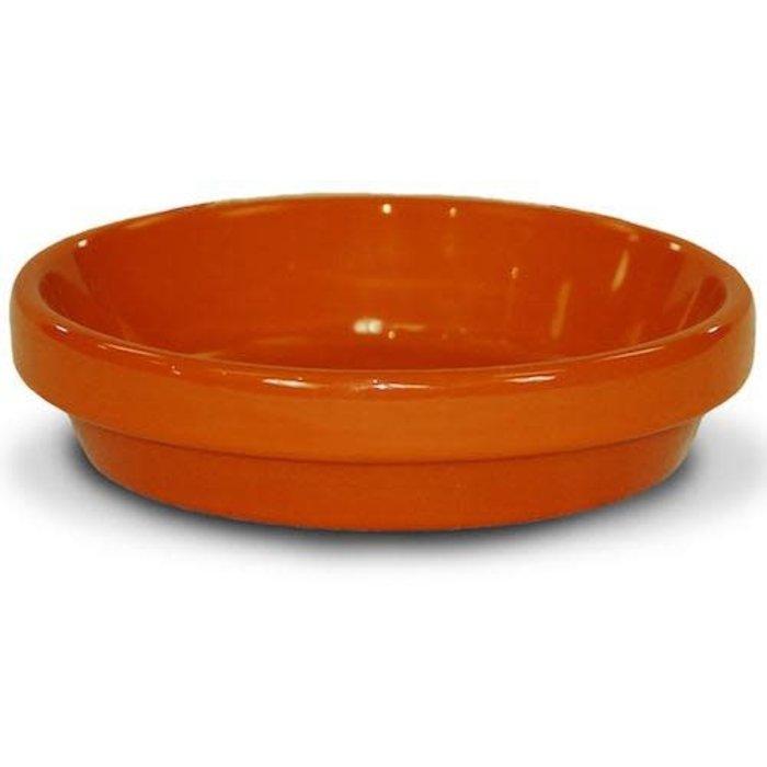 """Saucer 8"""" Glazed Orange"""