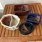 Pot Bonsai Land & Sea 8x6 w/Saucer Asst