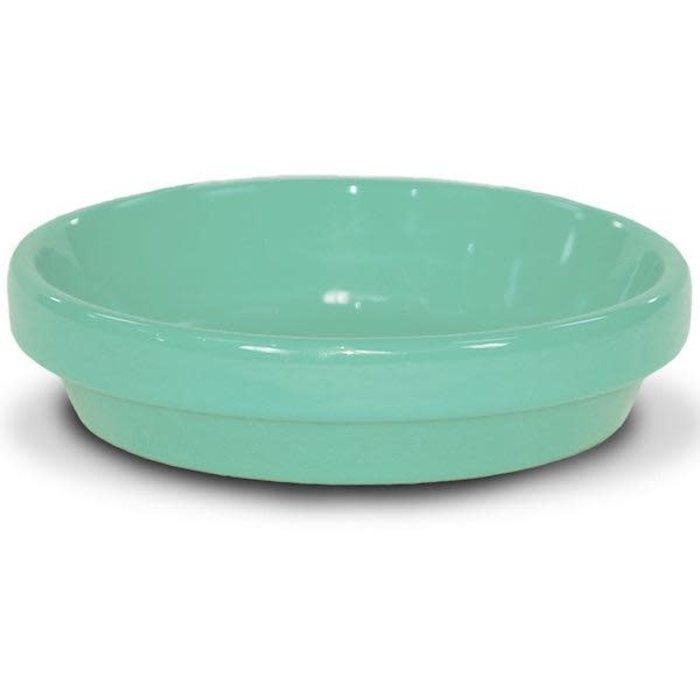 "Saucer 8"" Glazed Sage Green"