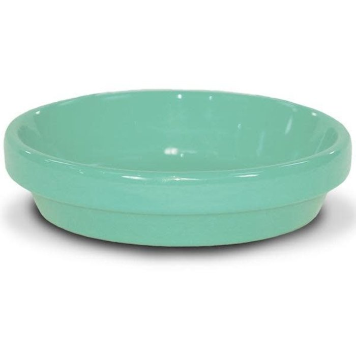 "Saucer 6"" Glazed Sage Green"