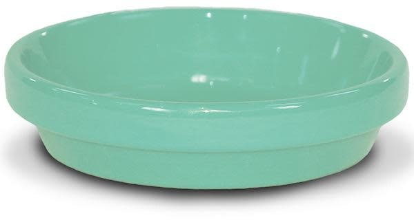 "Saucer 6"" Glazed Sage Green"