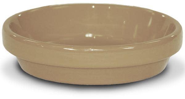 """Saucer 8"""" Glazed Desert Sand- X"""