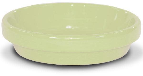 """Saucer 4"""" Glazed Butter Yellow"""