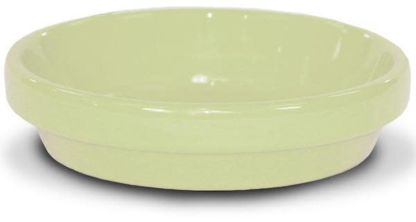 "Saucer 6"" Glazed Butter Yellow"