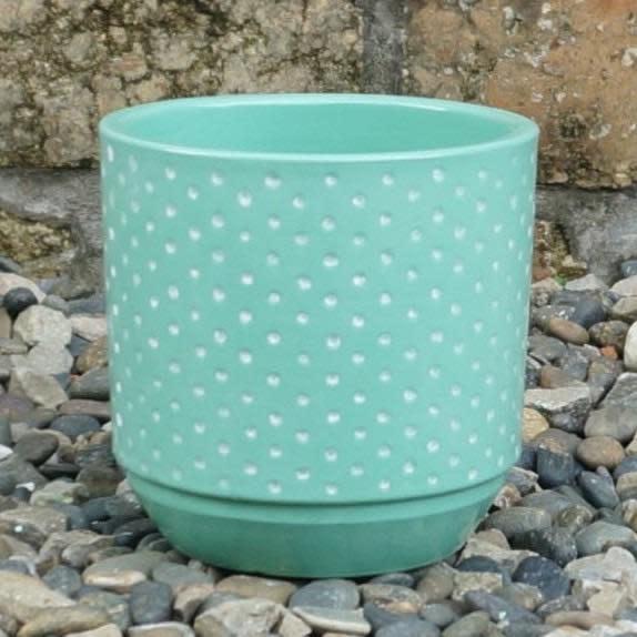 Pot Maria Dots 6x6 Green