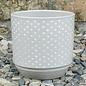 Pot Maria Dots 6x6 Gray