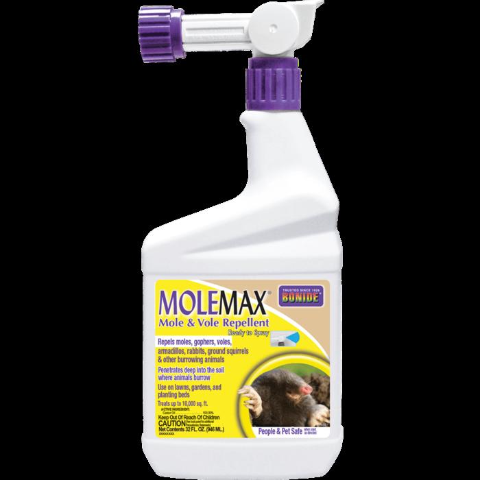 1Qt MoleMax Mole/Vole Repellent RTS Bonide