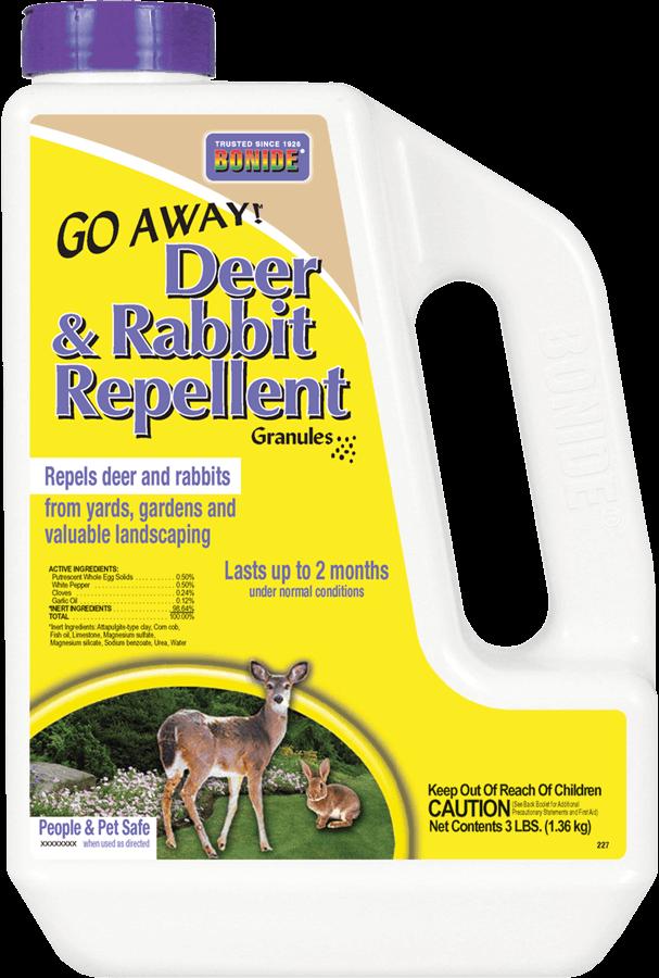 3Lb Go Away Deer & Rabbit Repellent Granules Bonide