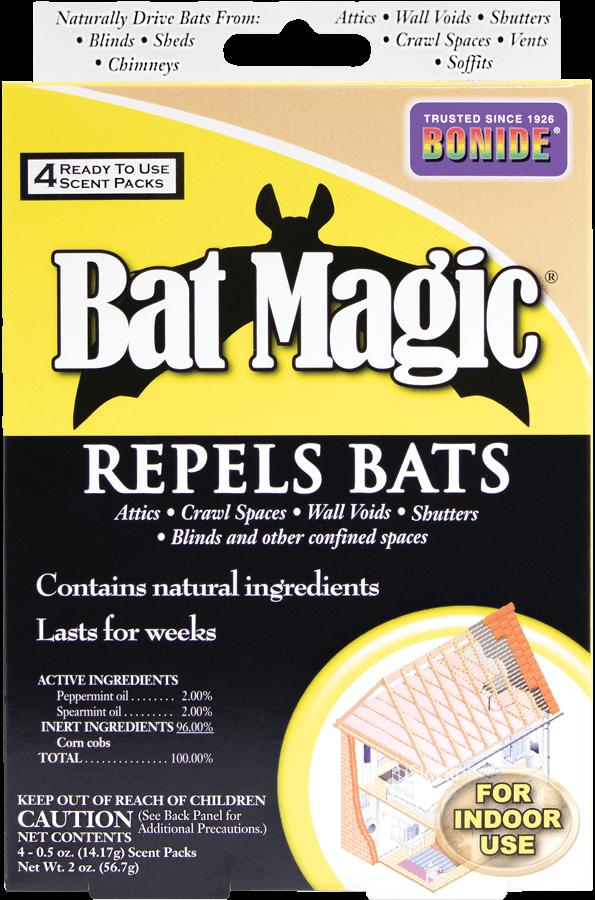 1Pkg Bat Magic 4/pk Repellent Bonide