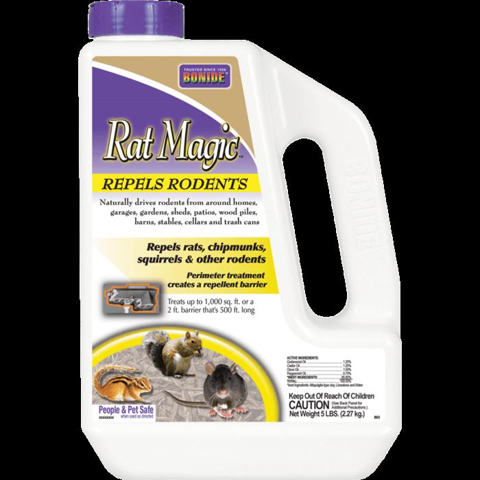 5Lb Rat Magic All Natural Repellent Bonide
