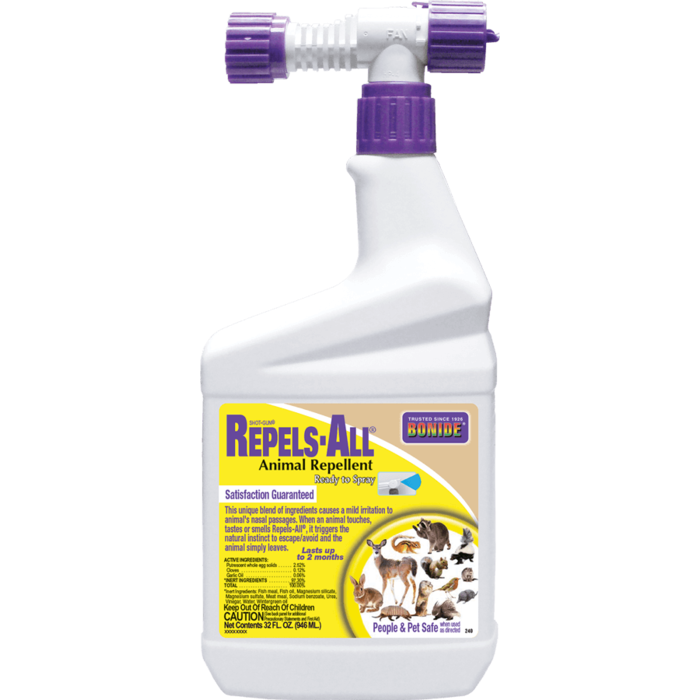 1Qt Repels-All Animal Repellent RTS Bonide