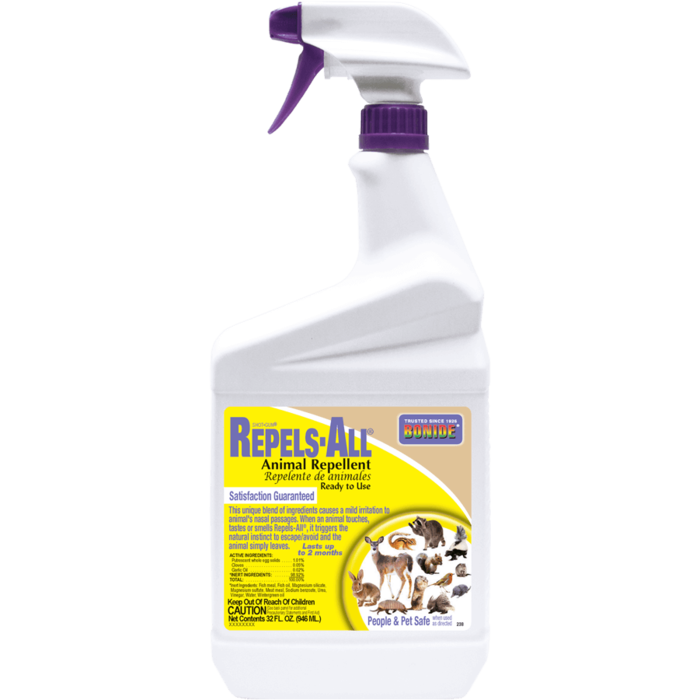 1Qt Repels-All Animal Repellent RTU Bonide