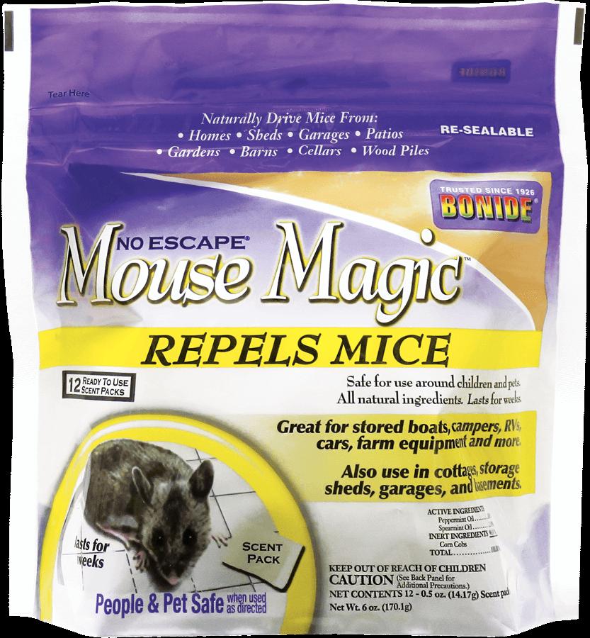 1Pkg Lrg Mouse Magic 12/pk All Natural Repellent Bonide