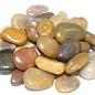 4Lb Bag Polished River Stones Mixed