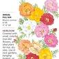Seed Portulaca Moss Rose Double Blend Heirloom - Portulaca grandiflora