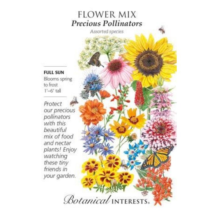 Seed Flower Mix Precious Pollinators - Assorted species